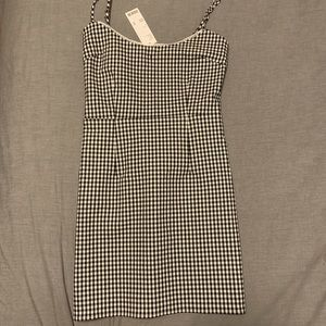 BNWT Gingham Mini Dress
